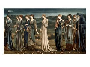Psyche by Edward Burne-Jones