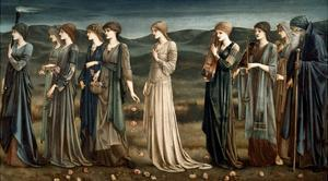 Psyche by Edward Burne-Jones
