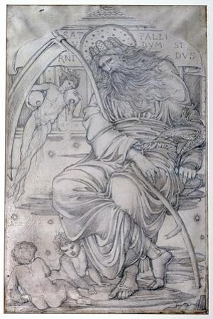 Saturn, from 'The Planets' a Series of Window Designs by Edward Burne-Jones