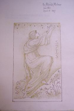 Spes, Illustration on the Flyleaf of 'Utopia' by Thomas More, 1897 by Edward Burne-Jones