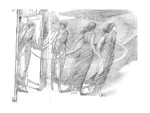 Study, 19th Century by Edward Burne-Jones
