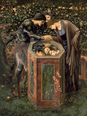 The Baleful Head, Illustration from William Morris' 'The Earthly Paradise' by Edward Burne-Jones