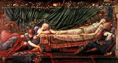 The Briar Rose' Series, 4: the Sleeping Beauty, 1870-90 by Edward Burne-Jones