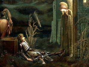 The Dream of Sir Lancelot at the Chapel of the Holy Grail, 1896 by Edward Burne-Jones