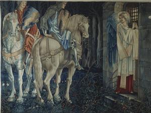 The Failure of Sir Gawain and Sir Ewain to Achieve the Holy Grail, 1893-95 by Edward Burne-Jones