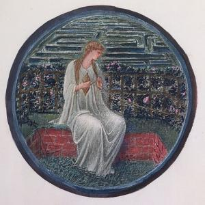 The Flower Book: XIV, Love in a Tangle, 1905 by Edward Burne-Jones