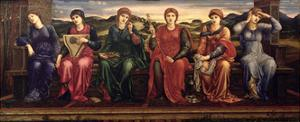 The Hours, 1870-82 by Edward Burne-Jones