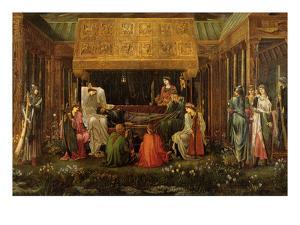 The Last Sleep by Edward Burne-Jones