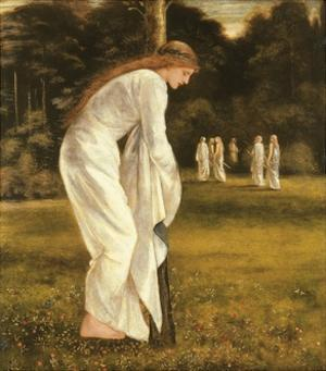 The Princess Tied to a Tree by Edward Burne-Jones