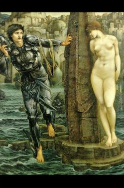 The Rock of Doom by Edward Burne-Jones