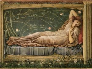 The Sleeping Beauty, 1871 by Edward Burne-Jones