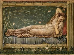 The Sleeping Beauty, 1871 by Edward Burne-Jones