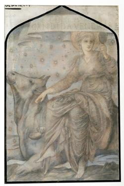 Venus, from 'The Planets', a Series of Window Designs by Edward Burne-Jones