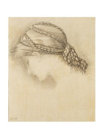 Woman's Head, Detail from a Sketchbook, 1886