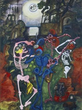 Dancing Skeletons by Edward Burra