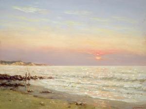 Evening Sky: Normandy by Edward Dawson
