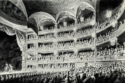 Covent Garden Theatre, 1795