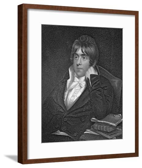 Edward Dubois, Author--Framed Giclee Print