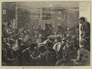 The Hole in the Wall, a Meeting of the London Republicans by Edward Frederick Brewtnall