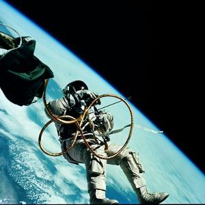 Edward H. White II, the First American to Perform a Space Walk