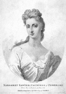 Margaret Ctess Pembroke by Edward Harding