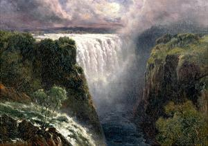 A View of Victoria Falls by Edward Henry Holder