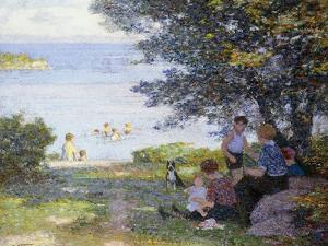 By the Water by Edward Henry Potthast