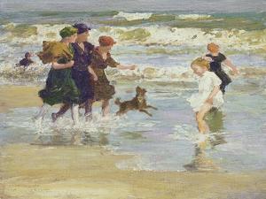 Splashing by Edward Henry Potthast
