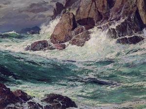 Stormy Seas, 1923 by Edward Henry Potthast