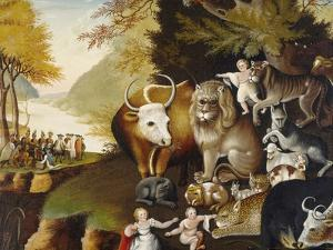 Peaceable Kingdom, C. 1834 by Edward Hicks