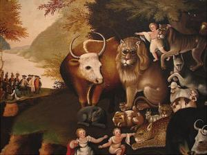 Peaceable Kingdom by Edward Hicks