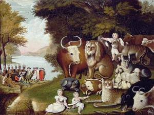 The Peaceable Kingdom by Edward Hicks