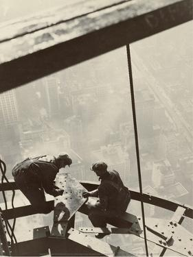 Empire State Building, New York, 1931 Digital image courtesy of the Getty's Open Content Program. by Edward Hine