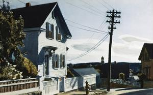 Adam's House by Edward Hopper