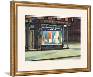 Drug Store by Edward Hopper
