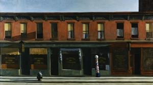 Early Sunday Morning by Edward Hopper