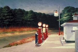 Gas, 1940 by Edward Hopper