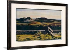 Hills, South Truro, 1930 by Edward Hopper
