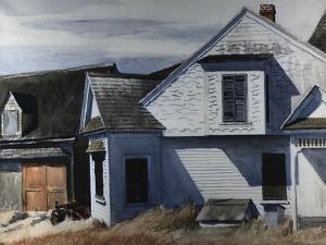 House on Pamet River by Edward Hopper