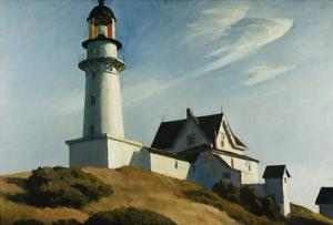 Lighthouse at Two Lights by Edward Hopper