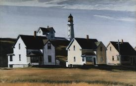 Lighthouse Hill Cape Elizabeth Maine By Edward Hopper
