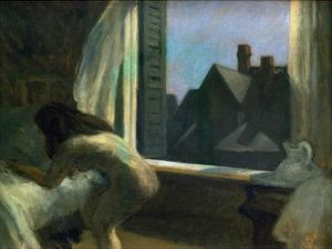 Moonlight Interior by Edward Hopper