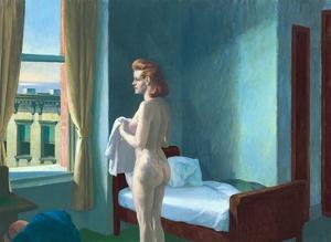 Morning in a City by Edward Hopper