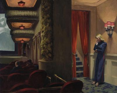New York Movie, 1939 by Edward Hopper