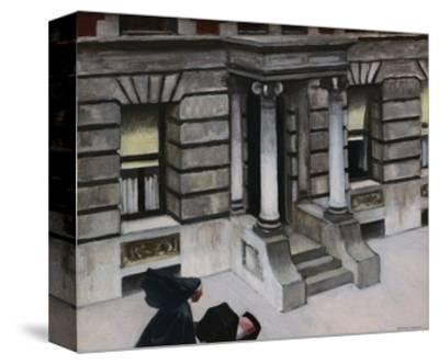 New York Pavements by Edward Hopper