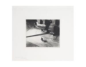 Night Shadows, 1921 by Edward Hopper