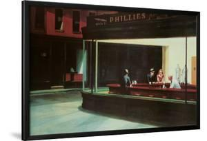 Nighthawks, c.1942 by Edward Hopper