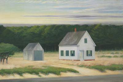 October on Cape Cod, 1946 by Edward Hopper