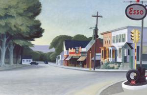 Portrait of Orleans, 1950 by Edward Hopper
