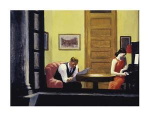 Room in New York, 1932 by Edward Hopper